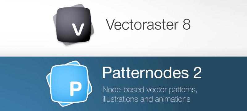 Vectoraster und Patternodes (macOS)