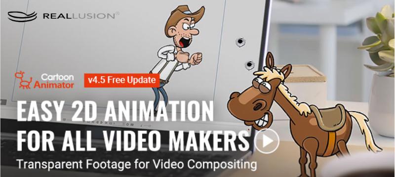 Cartoon Animator: 2D-Animationen für alle Videomacher