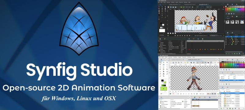 Vektoranimationen mit Synfig Studio