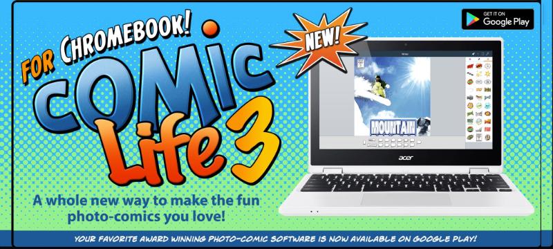 Comic Life 3.5 auch für Chromebook