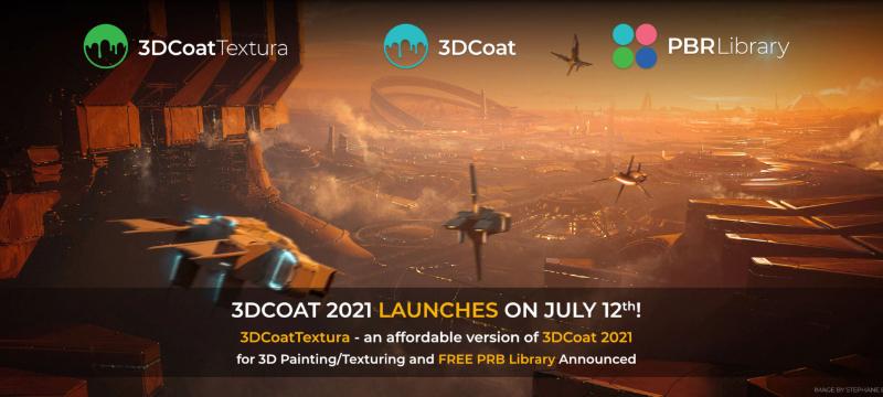 3DCoat 2021 wird am 12. Juli erscheinen