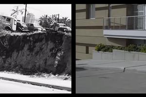 Eine Stadt im Damals und im Heute
