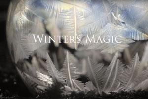 Die Magie des Winters – gefrorene Seifenblasen