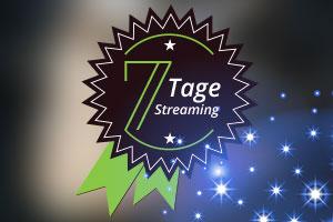 Wir versüßen den Übergang ins Neue mit einem 7-Tage-Streaming
