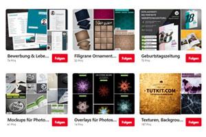 Besucht PSD-Tutorials.de auf Pinterest