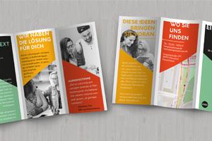 News - Wie ein dreiseitiger Falz-Flyer in Adobe InDesign entsteht