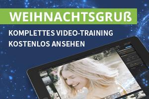 Zur Weihnachtszeit: komplettes Video-Training kostenlos ansehen
