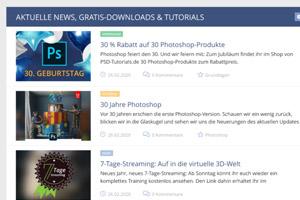 PSD-Tutorials.de – neues Design und Fokussierung noch dieses Jahr