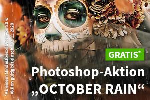 "Photoshop-Aktion ""October Rain"" gratis zu eurer Bestellung"