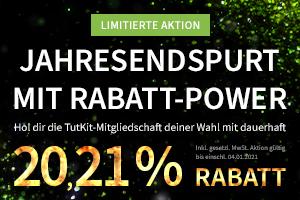 Jahresendspurt mit Rabatt-Power