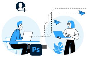 Asynchrones Bearbeiten von Dokumenten für Photoshop, Illustrator und Fresco