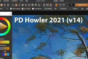 PD Howler 2021 – das schnelle Malprogramm mit 3D-Möglichkeiten