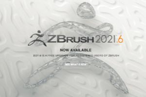 ZBrush 2021.6 bietet vier neue Features