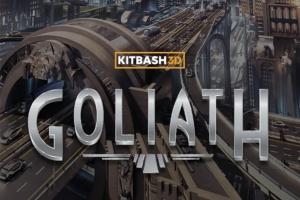 """Kitbash3D - Release vom Kitbash-Paket """"Goliath"""""""
