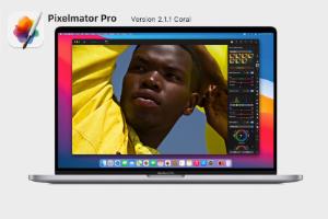 Pixelmator Pro 2.1 Coral  (Mac)