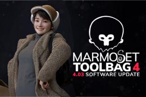 Marmoset Toolbag 4.0.3 ist da