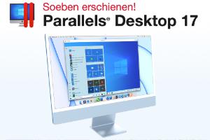 Parallels Desktop 17 auch für M1 und Windows 11
